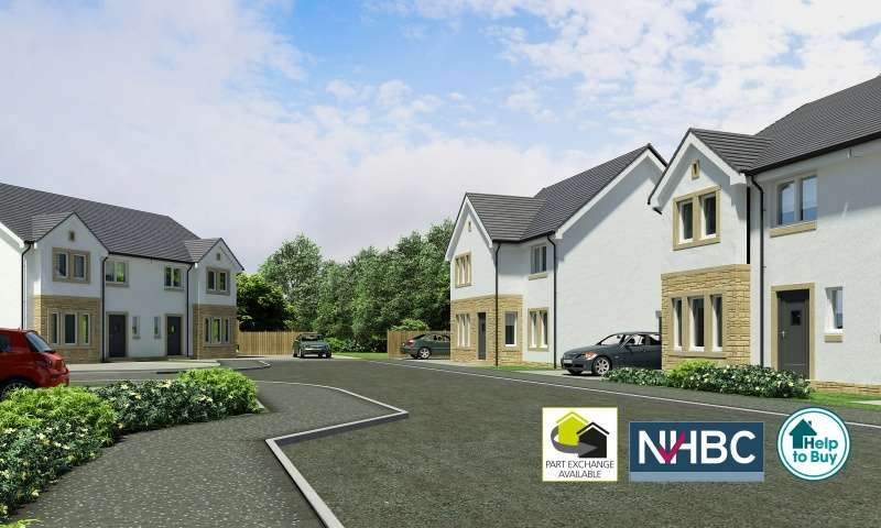 4 Bedrooms Semi Detached House for sale in Holmhead Gardens Hospital Road, Cumnock, East Ayrshire, KA18 1RR