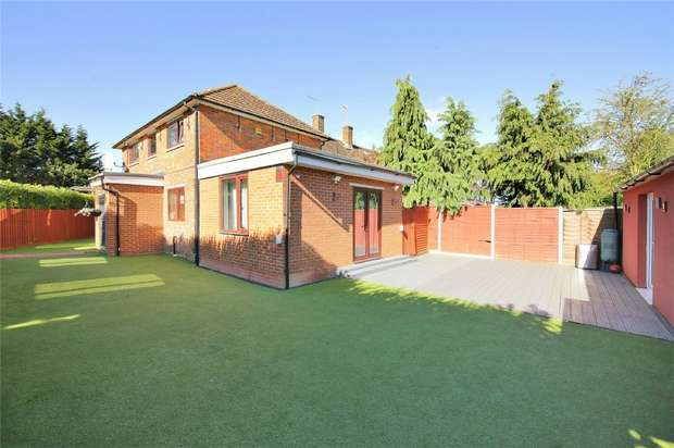 3 Bedrooms End Of Terrace House for sale in 106 Rossington Avenue, BOREHAMWOOD, Hertfordshire