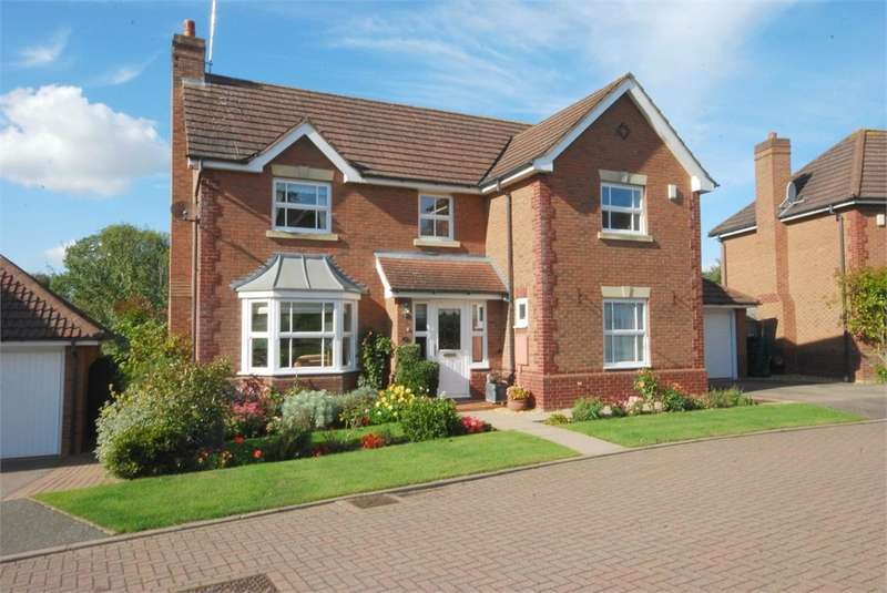 4 Bedrooms Detached House for sale in Brook View, Dunchurch, RUGBY, Warwickshire