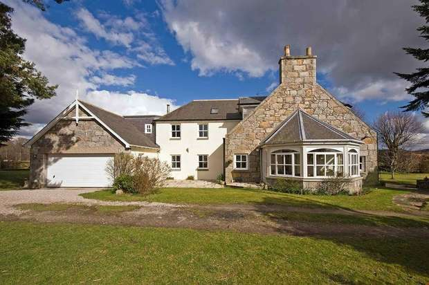 5 Bedrooms Detached House for sale in Kemnay, Inverurie, Aberdeenshire