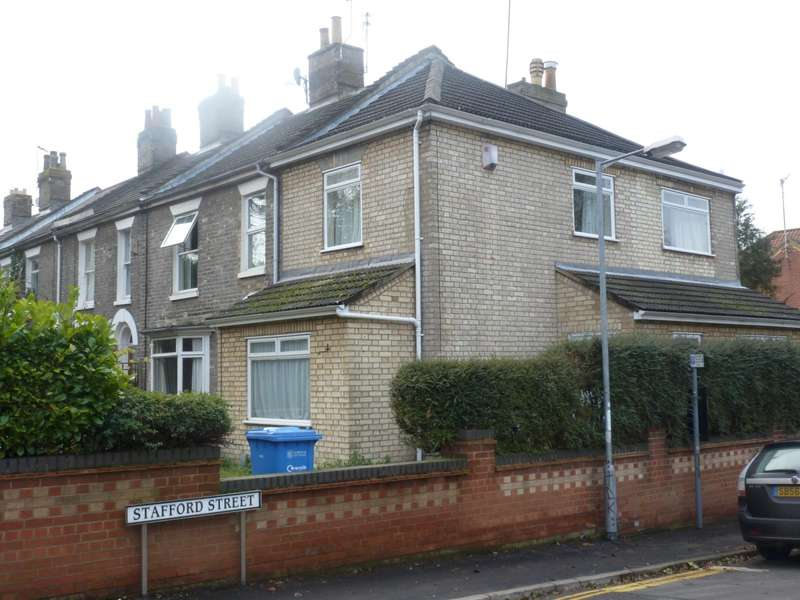 4 Bedrooms Semi Detached House for rent in Stafford Street, Norwich