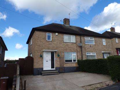 3 Bedrooms Semi Detached House for sale in Thistledown Road, Clifton, Nottingham, Nottinghamshire