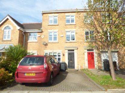 3 Bedrooms Terraced House for sale in Dapple Heath Avenue, Maghull, Liverpool, Merseyside, L31
