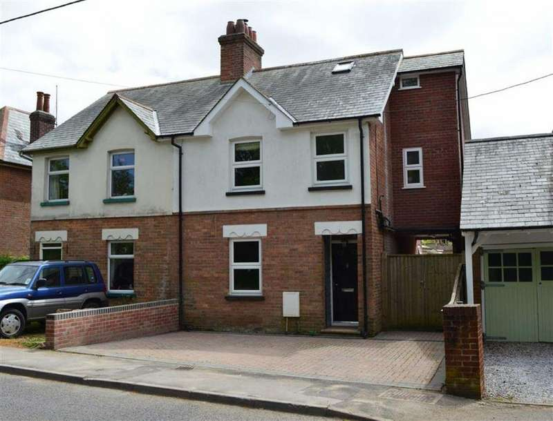 4 Bedrooms Semi Detached House for sale in Wimborne Road, Wimborne, Dorset