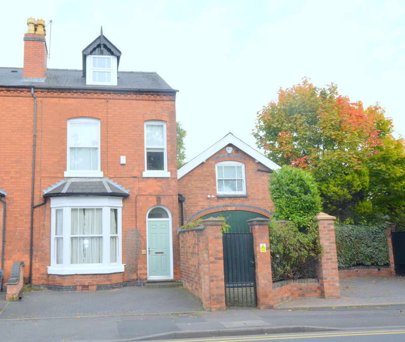 4 Bedrooms Semi Detached House for sale in Harborne Park Road, Birmingham