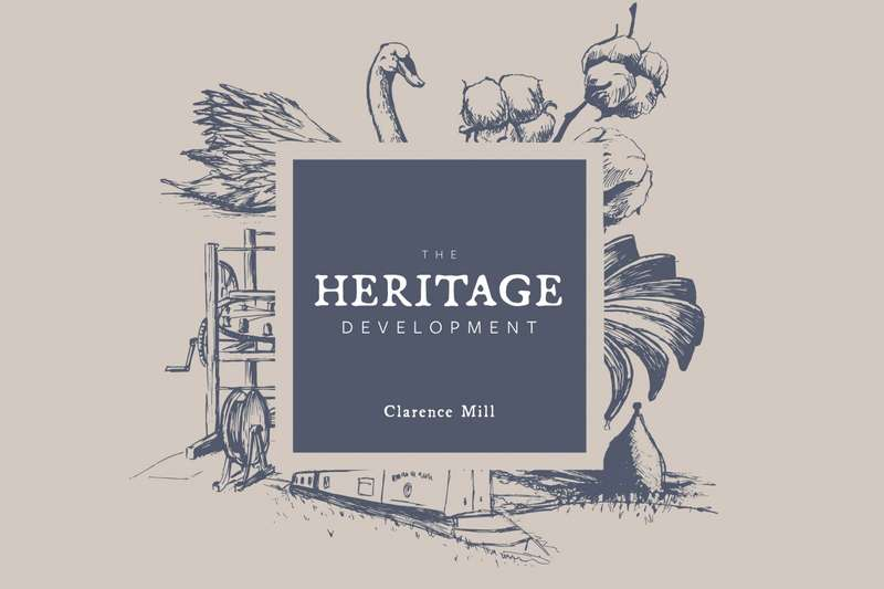 2 Bedrooms Apartment Flat for sale in The Heritage Development at Clarence Mill, Bollington