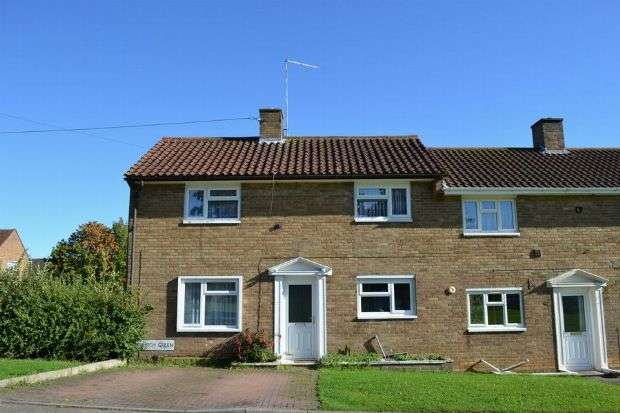 2 Bedrooms End Of Terrace House for sale in Church Green, Kings Heath, Northampton NN5 7LS