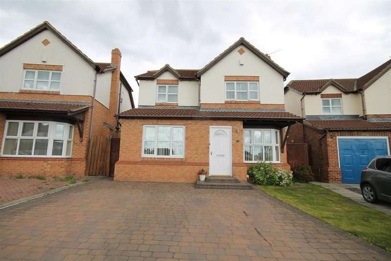 4 Bedrooms House for sale in Hutton Close, Fishburn, Stockton-On-Tees