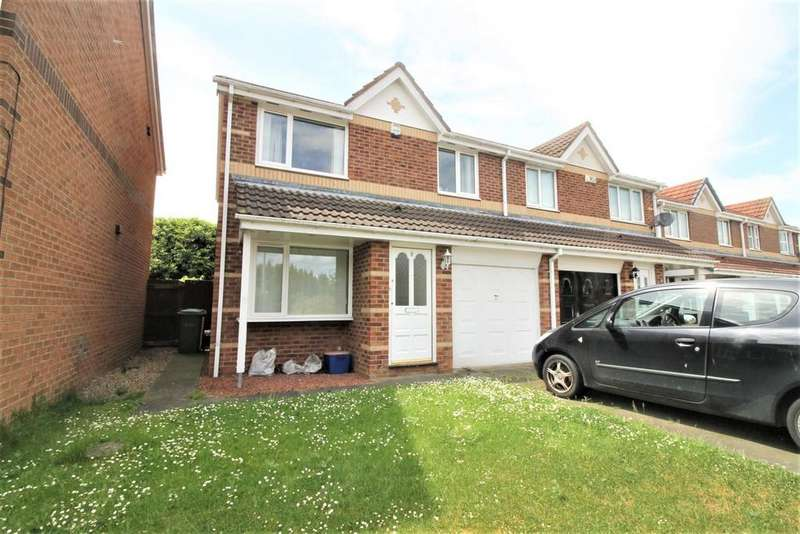 3 Bedrooms Semi Detached House for sale in Wharfedale Close, Ingleby Barwick, Stockton-On-Tees