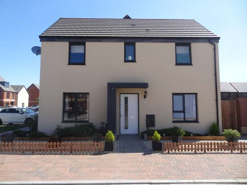 3 Bedrooms Detached House for sale in Mariners Walk, Barry