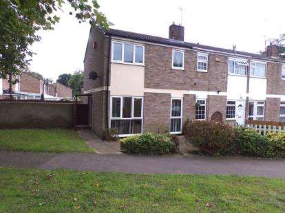 3 Bedrooms End Of Terrace House for sale in The Planes, Kempston, Bedford, Bedfordshire