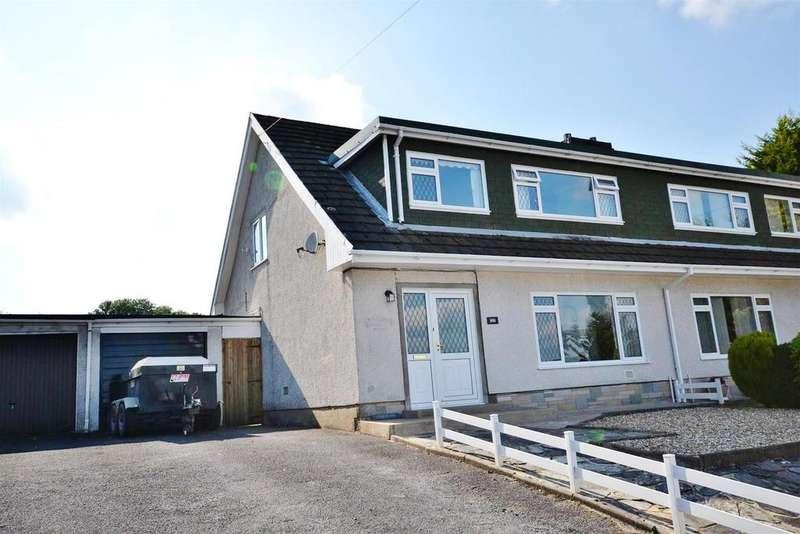 3 Bedrooms Semi Detached Bungalow for sale in Cwmffrwd, Carmarthen