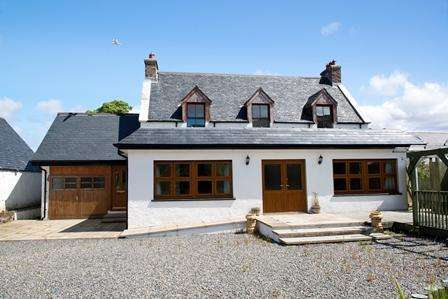 4 Bedrooms Detached House for sale in Sunnyside, Poolewe, Achnasheen, IV22