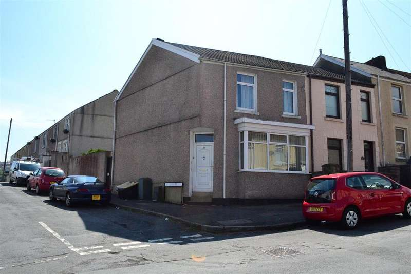 3 Bedrooms End Of Terrace House for sale in Fern Street, Cwmbwrla, Swansea