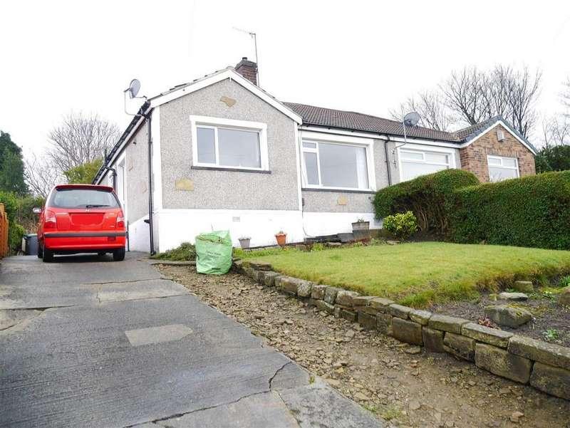 2 Bedrooms Semi Detached Bungalow for sale in Queens Rise, Off Queens Road, Bradford