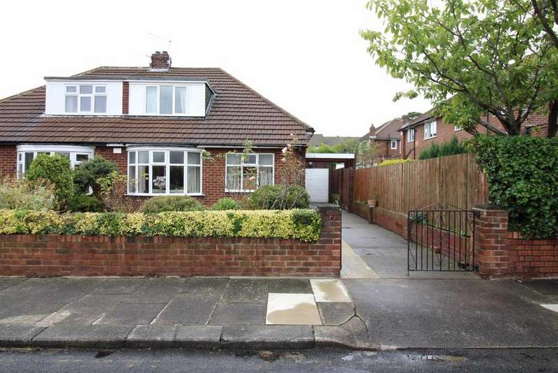 2 Bedrooms Semi Detached Bungalow for sale in Manor Place, Benton, Newcastle Upon Tyne