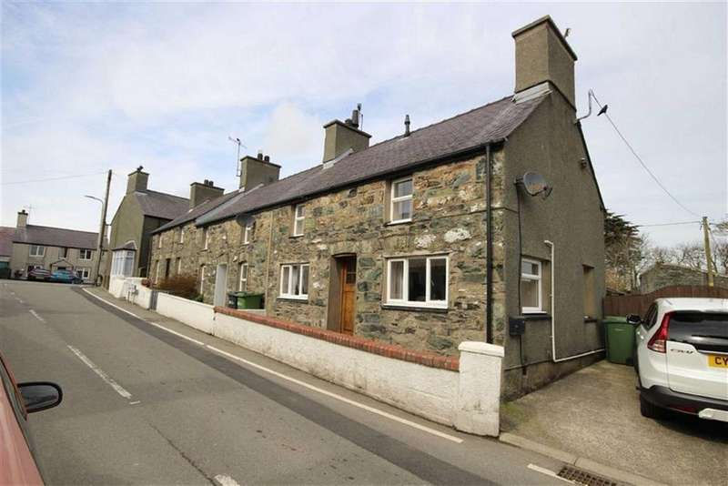 2 Bedrooms Cottage House for sale in 3 Bryndu Terrace, Llanfechell, Anglesey, LL68