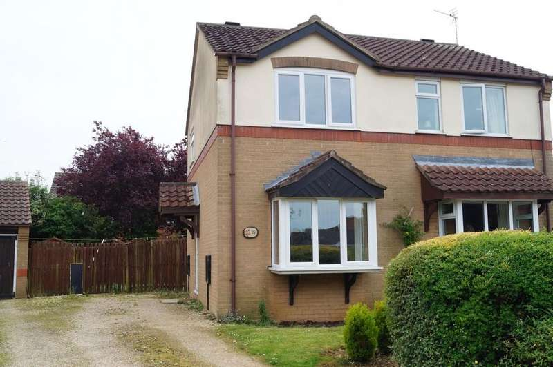 2 Bedrooms Semi Detached House for sale in Windsor Close, Sudbrooke, Lincoln