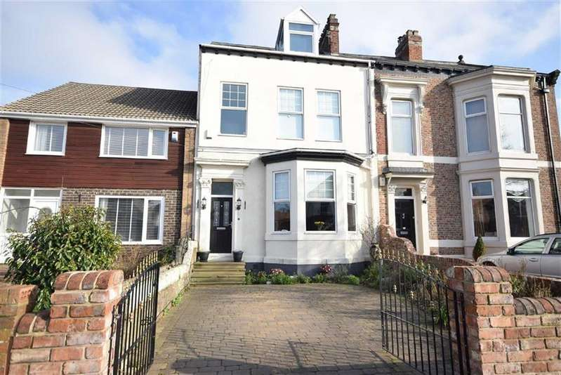 5 Bedrooms Terraced House for sale in Cauldwell Villas, South Shields, South Shields