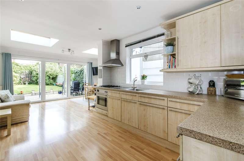 4 Bedrooms Terraced House for sale in Montserrat Road, London, SW15