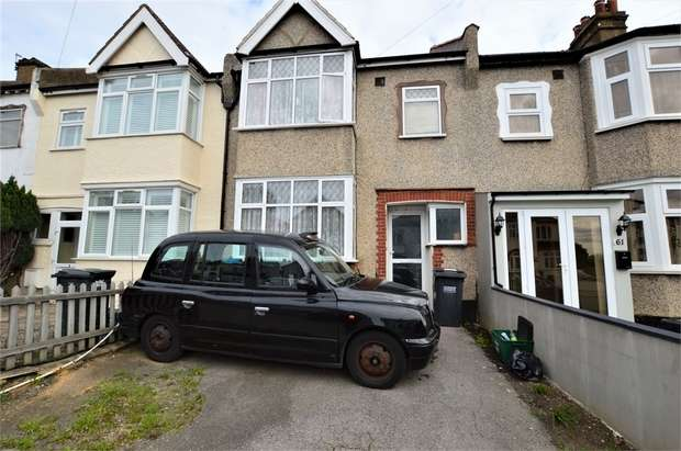 3 Bedrooms Terraced House for sale in Ingram Road, Thornton Heath