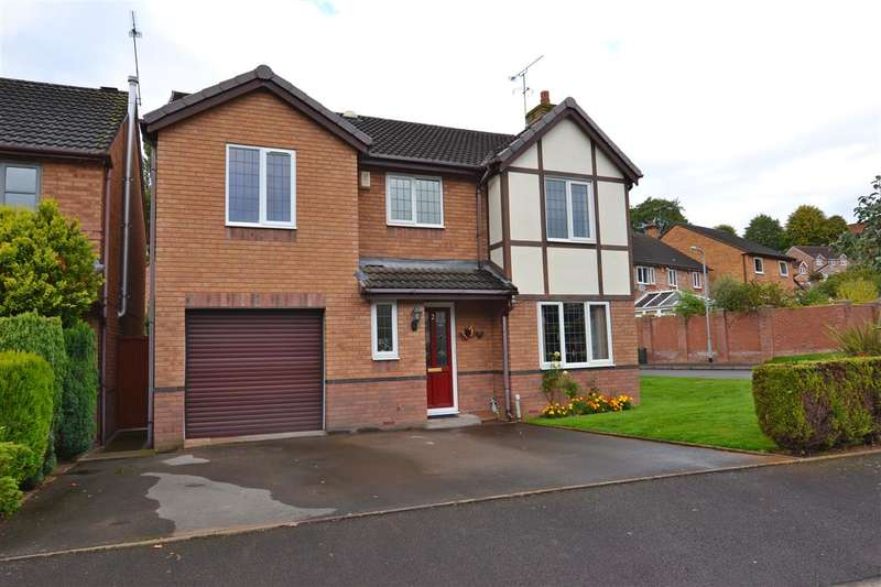 5 Bedrooms Detached House for sale in Davies Close, Stafford