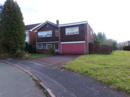 4 Bedrooms Detached House for sale in Newquay Close, Park Hall, Walsall