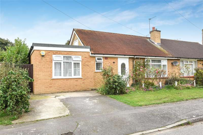 2 Bedrooms Semi Detached Bungalow for sale in St. Matthew Close, Uxbridge, Middlesex, UB8