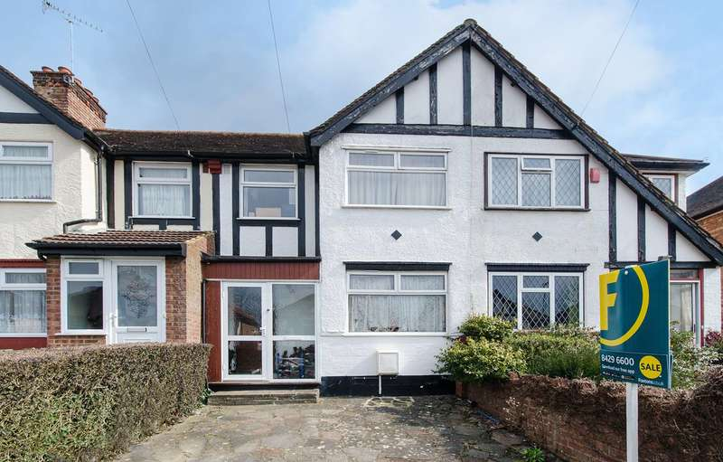 3 Bedrooms Terraced House for sale in Belsize Road, Harrow Weald, HA3