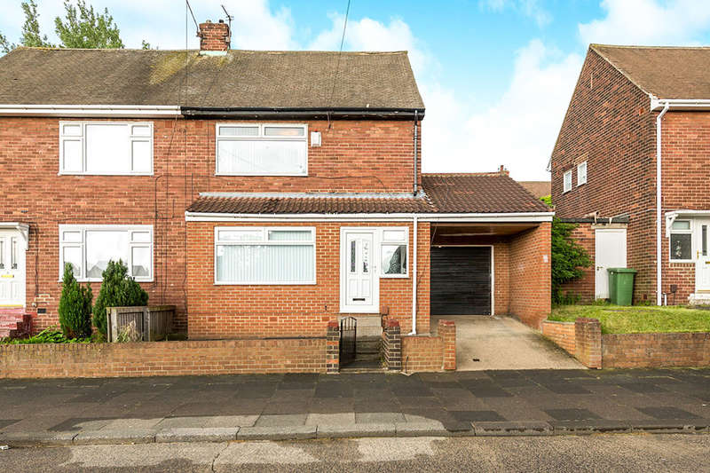 2 Bedrooms Semi Detached House for sale in Tadcaster Road, Thorney Close, Sunderland, SR3
