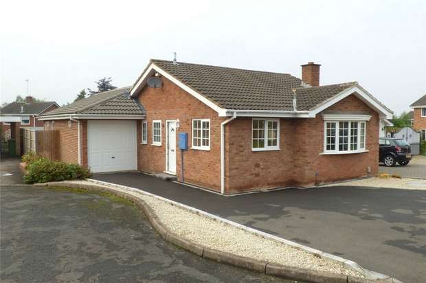2 Bedrooms Detached Bungalow for sale in Chartwell Close, Whitestone, Nuneaton, Warwickshire