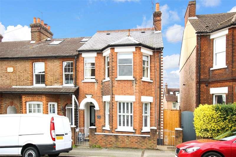4 Bedrooms Terraced House for sale in Etna Road, St. Albans, Hertfordshire, AL3