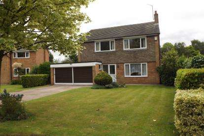 4 Bedrooms Detached House for sale in Congleton Road, Sandbach, Cheshire