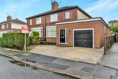 3 Bedrooms Semi Detached House for sale in Vernon Road, Rotherham, South Yorkshire