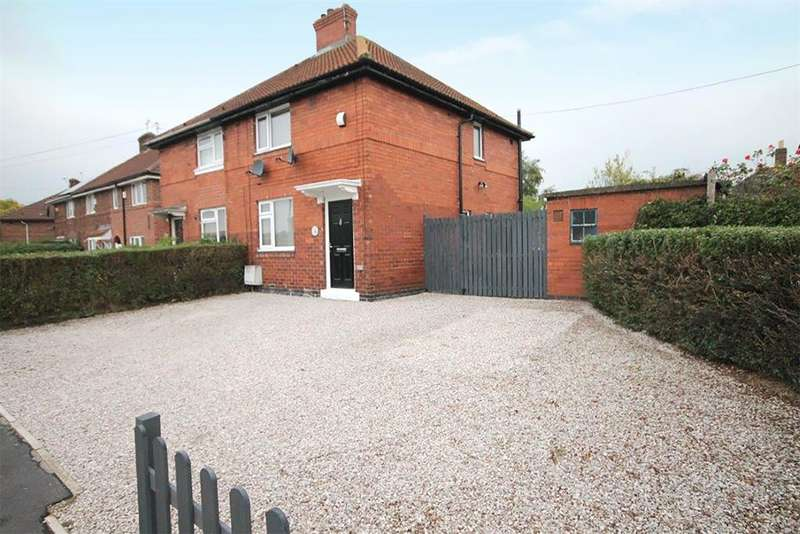 2 Bedrooms Semi Detached House for sale in Crombie Avenue, York, YO30 6DW