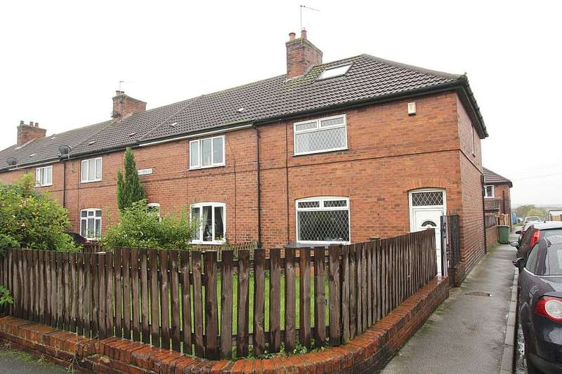 3 Bedrooms End Of Terrace House for sale in Newstead Terrace, Fitzwilliam, Pontefract, West Yorkshire, WF9 5DQ