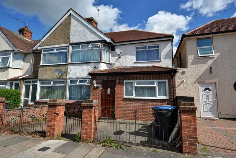 5 Bedrooms End Of Terrace House for sale in St. Mary's Road, London, London, N9