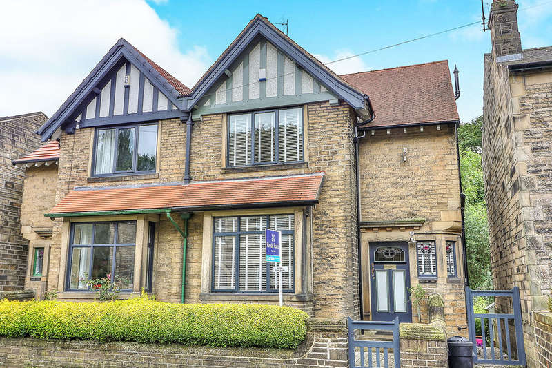 4 Bedrooms Semi Detached House for sale in Cragg Road, Hebden Bridge, HX7