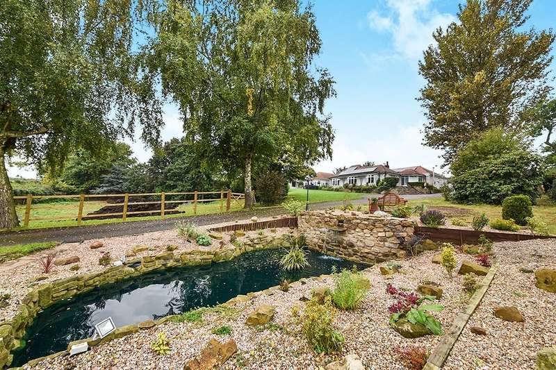 5 Bedrooms Detached Bungalow for sale in Codnor Denby Lane, Denby Village, Ripley, DE5