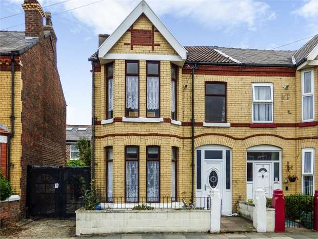 3 Bedrooms Semi Detached House for sale in Somerville Road, Liverpool, Merseyside