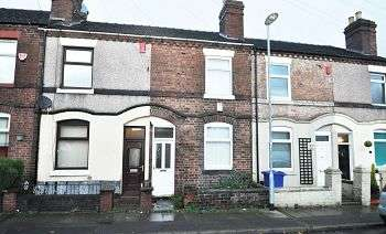 2 Bedrooms Terraced House for sale in Nursey Street, Stoke, Stoke-on-Trent, Staffordshire, ST4 4BS