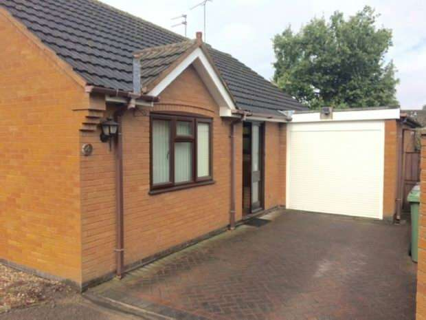 2 Bedrooms Detached Bungalow for sale in Cresswell Close, Weddington, Nuneaton