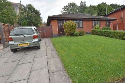 2 Bedrooms Bungalow for sale in St. Helier Close, Mill Hill, Blackburn, Lancashire