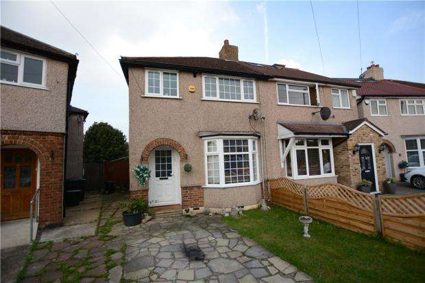 3 Bedrooms Semi Detached House for sale in Dickens Avenue, Hillingdon, Middlesex