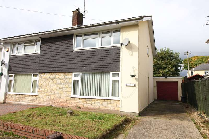 3 Bedrooms Semi Detached House for sale in Prospect Place, New Inn, Pontypool, NP4