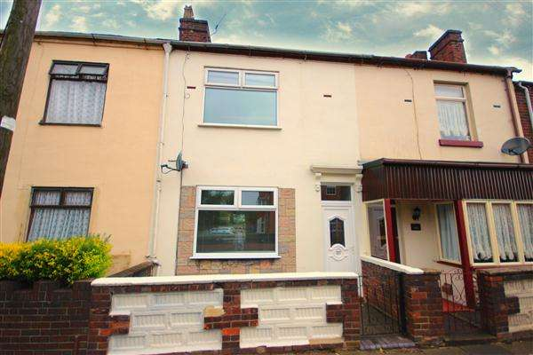 2 Bedrooms Terraced House for sale in Whieldon Road, Mount Pleasant, Stoke-on-Trent