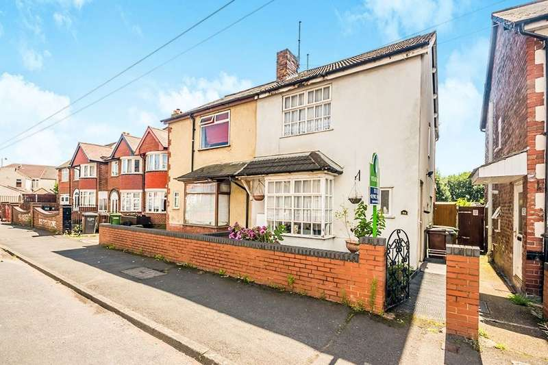 3 Bedrooms Semi Detached House for sale in Bolton Road, Wolverhampton, WV11