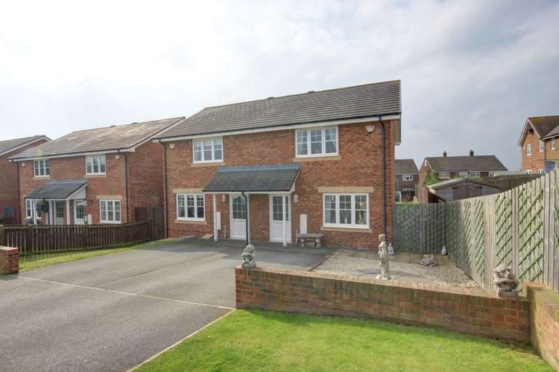 2 Bedrooms Semi Detached House for sale in Beckwith Close, Houghton Le Spring, DH4