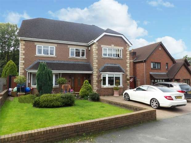 5 Bedrooms Detached House for sale in Clos Bryngwyn, Garden Village, Gorseinon, Swansea, West Glamorgan