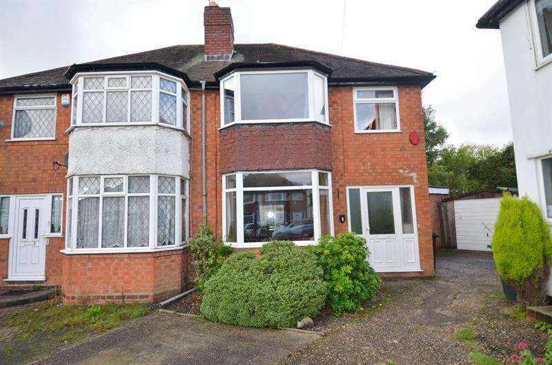 3 Bedrooms Semi Detached House for sale in Wilde Close, Kings Heath, Birmingham